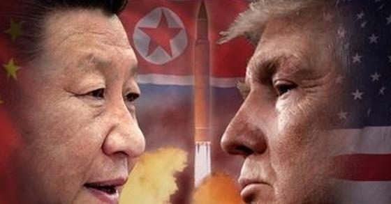 도널드 트럼프 미국 대통령과 시진핑(習近平) 중국 국가 주석이 12일 전화통화로 북한 문제를 집중 논의했다. [연합뉴스]