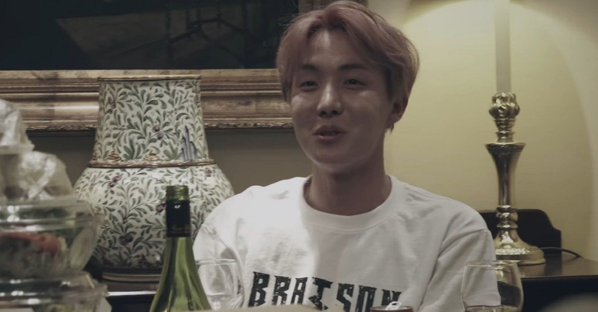 J-Hope of BTS. Photo from BTS documentary 'Burn the Stage,'