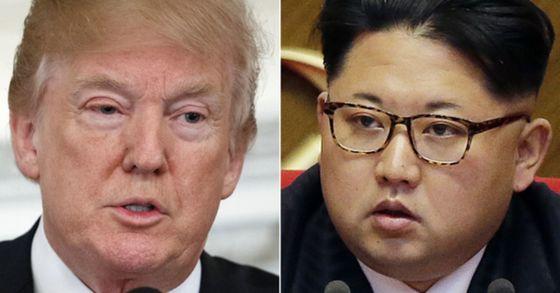 도널드 트럼프 미국 대통령(왼쪽)과 김정은 북한 노동당 위원장. [연합뉴스]