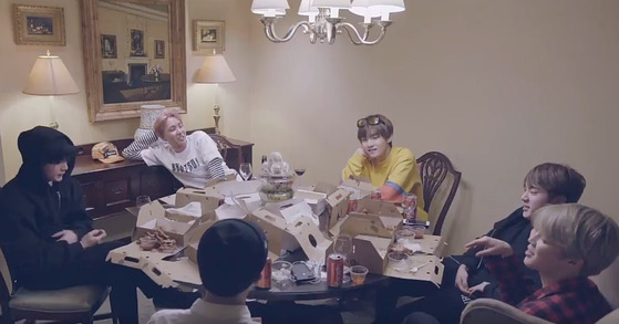 Photo from BTS documentary 'Burn the Stage,'