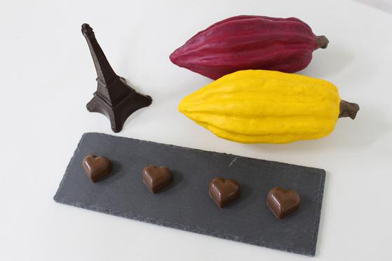 몰드 초콜릿. [사진 황연숙]