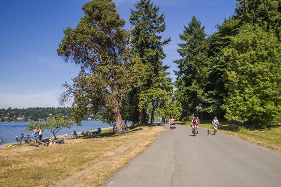 미국 북서부 태평양에 면한 시애틀은 산책하기 좋은 도시다. 도심 곳곳에 잘 관리된 공원이 많아서다. [사진 시애틀관광청]