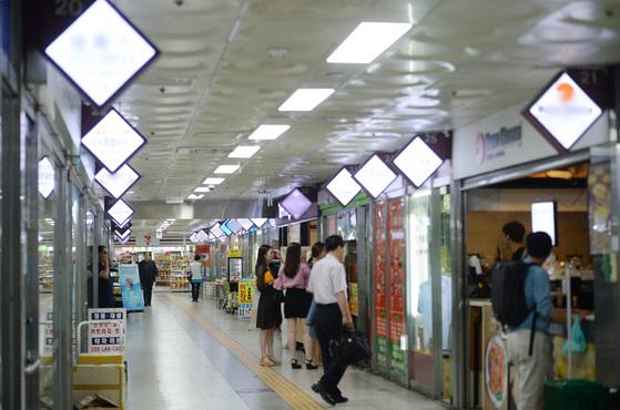 지난 1월 관련 법령이 개정돼 상가 임차인 보호가 한층 강화됐다. 사진은 서울 을지로 지하상가.