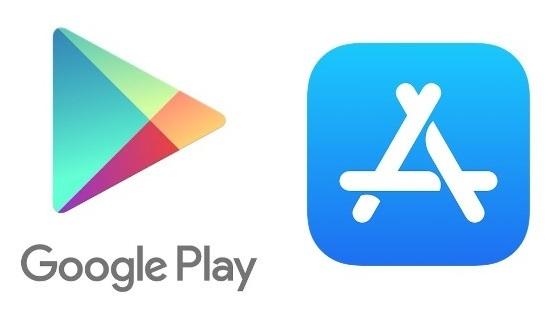 구글플레이 스토어와 애플 앱스토어