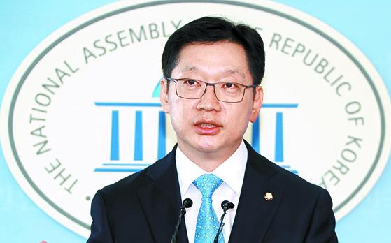 문재인 대통령의 '복심'으로 불리는 김경수 더불어민주당 의원. [연합뉴스]