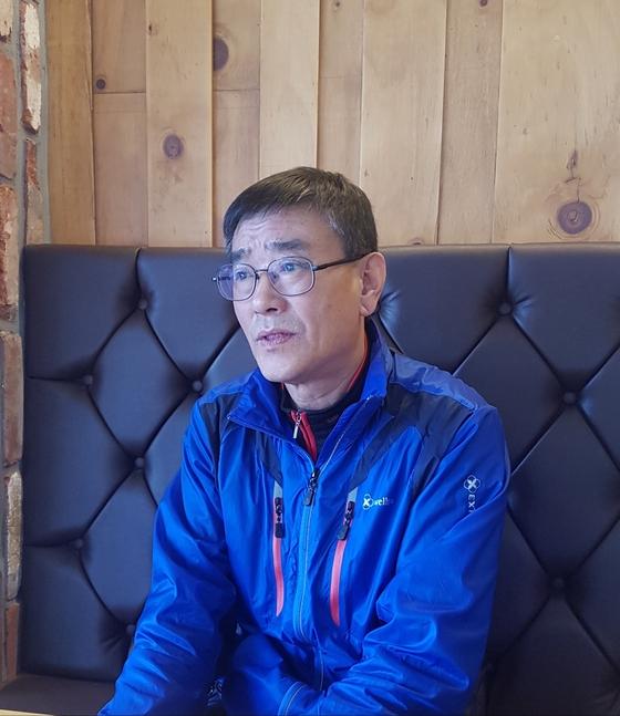 지난 13일, 서울 구로구의 한 카페에서 만난 미수습자 가족 권오복(63)씨. 여성국 기자