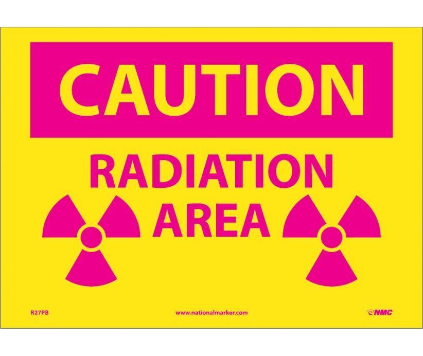 방사선 구역 표지판 [중앙포토]