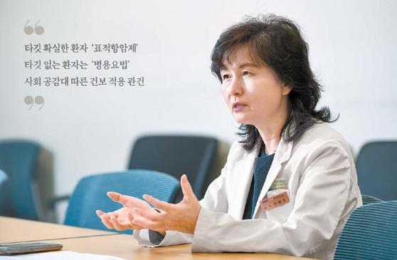 삼성서울병원 혈액종양내과 안명주 교수는 뇌 전이 폐암 환자 치료율을 개선한 임상연구로 학계의 주목을 받고 있다. 프리랜서 김동하