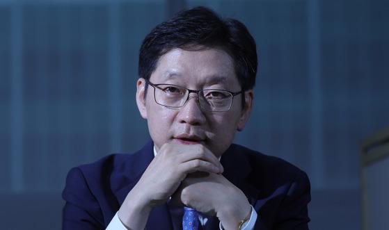 김경수 더불어민주당 의원. 김경빈 기자