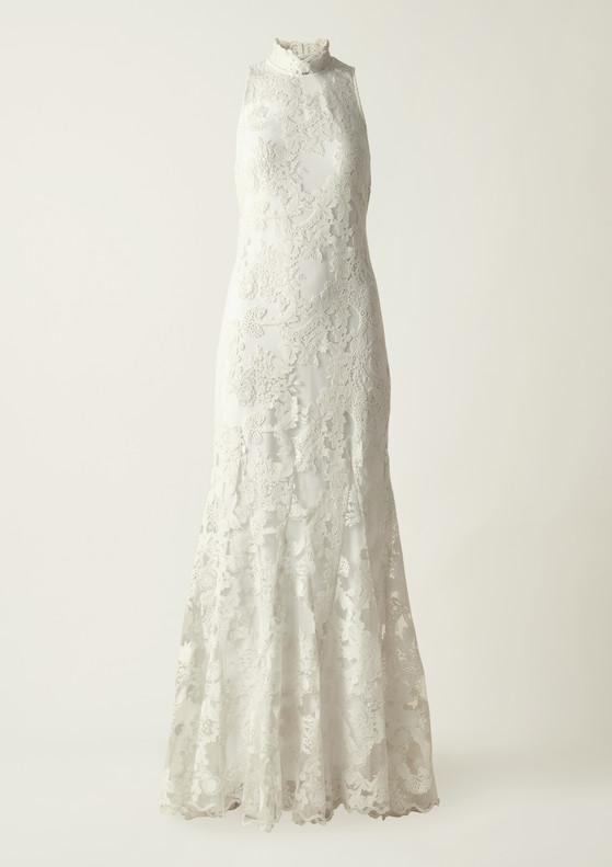 재생 나일론으로 만든 H&M '컨셔스 익스클루시브 컬렉션' 웨딩 드레스. [사진 각 브랜드]