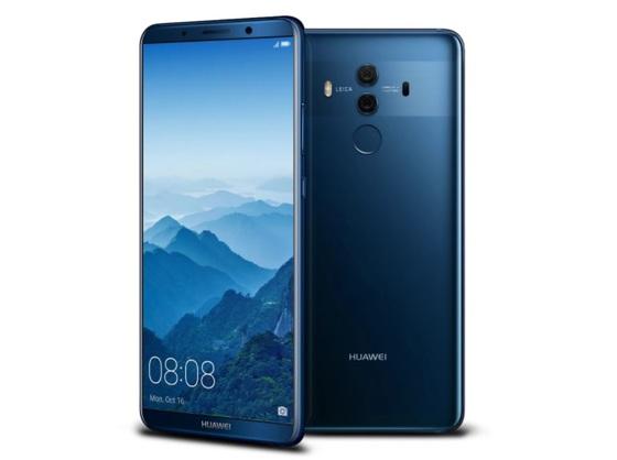 화웨이는 2017년 10월 20일 중국에서 인공지능 신경망처리장치(NPU)가 탑재된 프리미엄 스마트폰 '메이트10'을 출시했다. 이 제품 출고가는 우리 돈 약 80만원 수준이다. [사진 중앙포토]