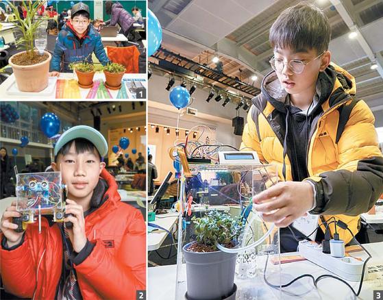 지난 2월 소년중앙 영메이커 프로젝트 시즌 3 참가자들은 미니 영메이커 페어를 통해 자신들의 작품을 세상에 공개했다.
