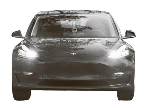테슬라가 지난해 선보인 보급형 전기차 모델3.