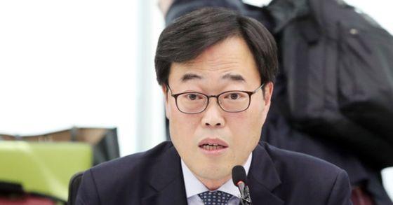 김기식 금융감독원장. 김경록 기자