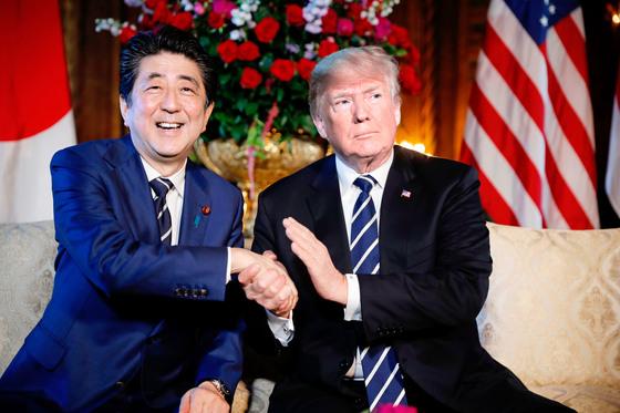 트럼프·아베 정상회담