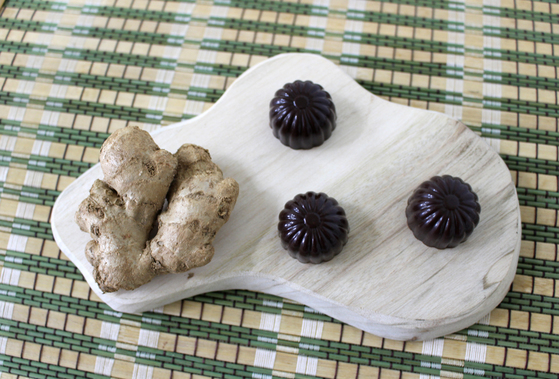 생강 초콜릿. [사진 황연숙]