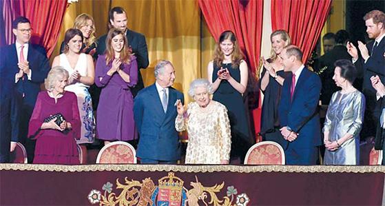 영국 여왕 92번째 생일