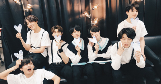 Photo from Twitter @BTS_jp_official