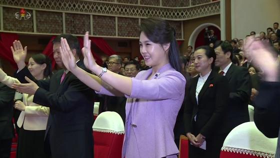 김정은 노동당 위원장의 부인 리설주 [연합뉴스]
