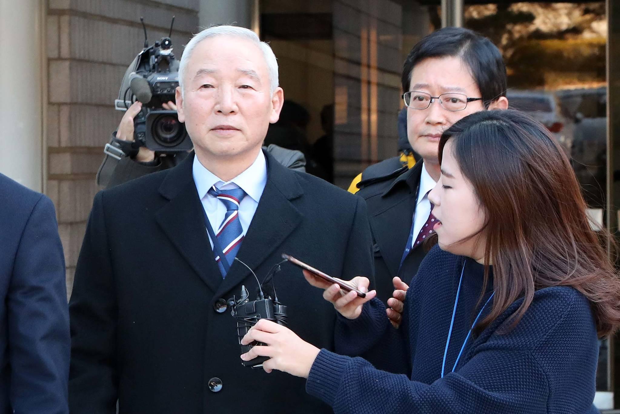 남재준 전 국정원장. 조문규 기자