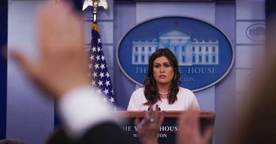 세라 허커비 샌더스 미국 백악관 대변인