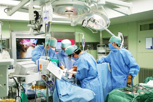 종합병원 수술실 모습 [중앙포토]