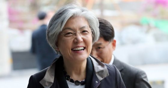 강경화 외교부 장관. 김경록 기자