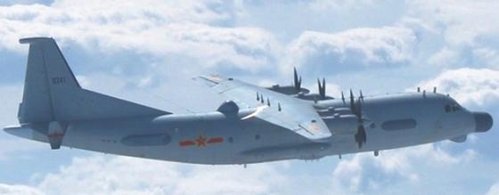 지난 2월 27일 한국방공식별구역(KADIZ)을 무단진입한 중국 군용기로 주정되는 Y-9JB. 수송기로 제작한 Y-9을 전자전기와 정찰기로 개조한 기종이다. [사진 Want China Times]