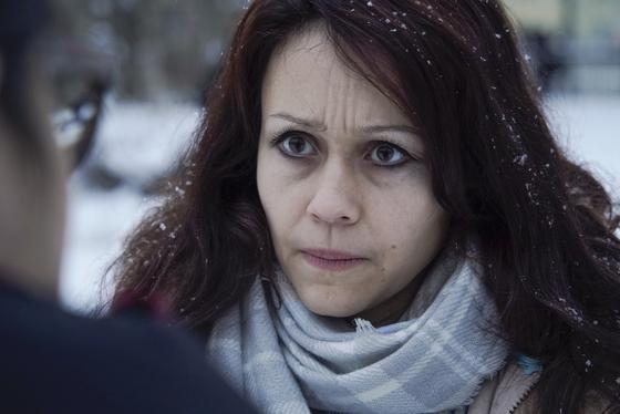 올해 2월 19일 러시아의 여론 조작 기관인 IRA(Internet Research Agency) 요원이었던 류드밀라 사브추크(Lyudmila Savchuk)가 상트페테르부르크에서 기자들과 인터뷰를 하고 있다. 그는 IRA요원들의 열악한 근무 환경을 비판함과 동시에 IRA 정체에 대해서도 폭로했다. [AP=연합뉴스]
