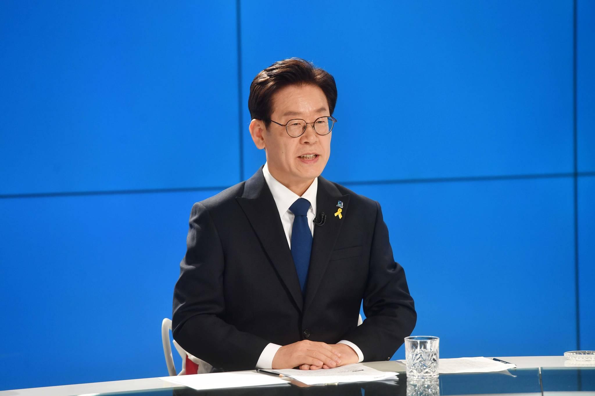 이재명 경기도지사 후보. 사진공동취재단