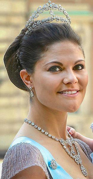 스웨덴 왕위 계승 서열 1위인 빅토리아 공주(왕세녀).