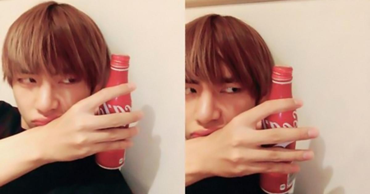 TAETAE loves Coca-Cola.