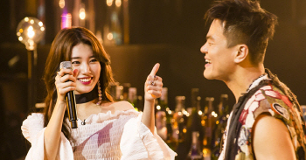 SUZY and Park Jin Young. Photo from SBS