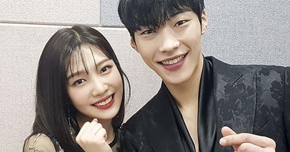 Joy and Woo Dohwan, Photo from Instagram