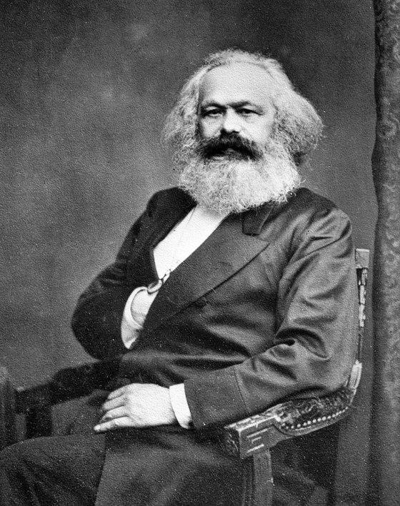 카를 마르크스. 1875년의 사진이다. [중앙포토]