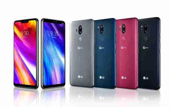 LG전자의 새 스마트폰 ' G7 씽큐'가 2일 공개된다. LG전자는 미국 뉴욕 메트로폴리탄 웨스트에서 G7 씽큐와 G7+ 씽큐를 공개한다고 밝혔다. [사진 LG전자]