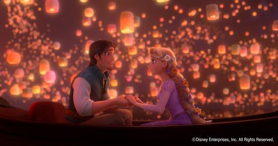 결혼은 낭만과 황홀함이 가득한 삶이 아니라 지독한 현실의 시작이다. '그들은 행복하게 잘 살았습니다'라는 만화영화 같은 엔딩은 이곳에 없다. 사진은 디즈니 애니메이션 '라푼젤' 스틸컷. (C) Disney Enterprises, Inc. All Rights Reserved.