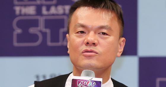 박진영 JYP엔터테인먼트 대표. [사진 일간스포츠 제공]