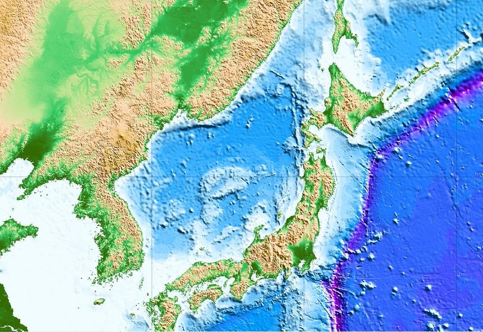 동아시아 지구조 [자료 한국지질자원연구원]