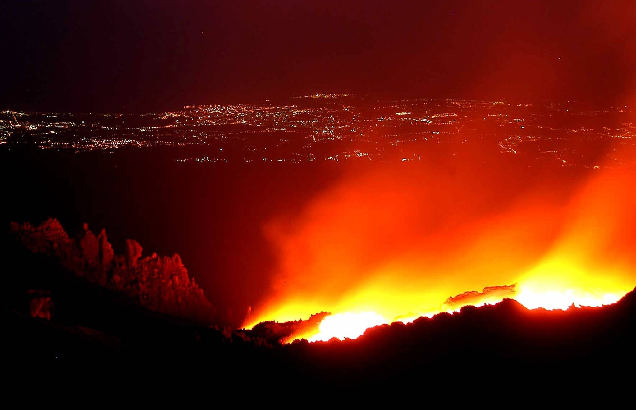 에트나 화산 [중앙포토]