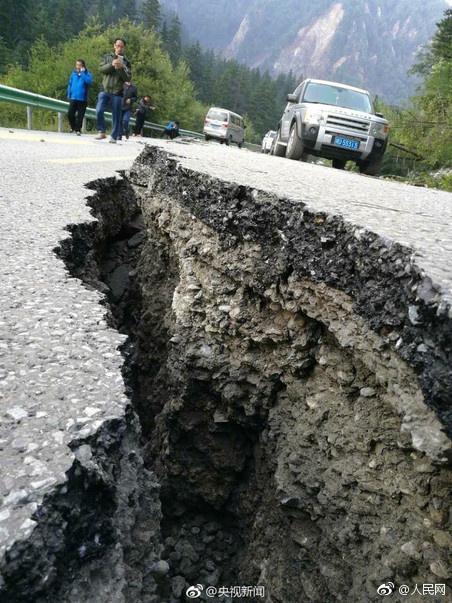 2008년 대지진이 났던 중국 쓰촨성에서 지난 8월 다시 규모 7.0의 지진이 발생했다. [연합뉴스]