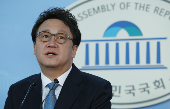의원직 사퇴를 선언했다가 국회로 돌아온 민병두 더불어민주당 의원 [뉴스1]