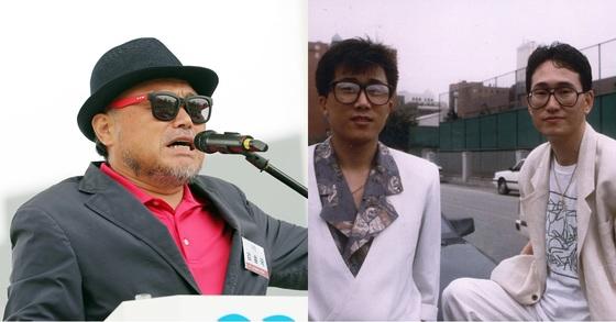 가수 김흥국(왼쪽), 박일서가 속했던 가수 도시의 아이들. [일간스포츠, 중앙포토]