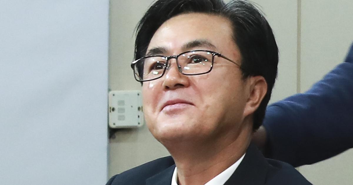 김태흠 자유한국당 최고위원. 임현동 기자