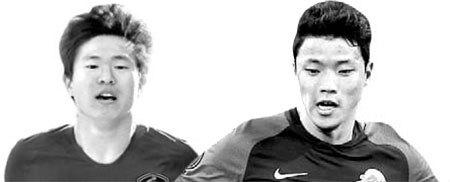 권창훈(左), 황희찬(右)