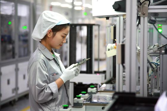 현대모비스가 고급 사운드 시스템과 헤드업디스플레이를 생산하는 현대모비스 중국 천진공장 [사진 현대모비스]