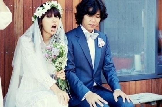 결혼 5년 차가 된 이효리, 이상순 부부. [중앙포토]