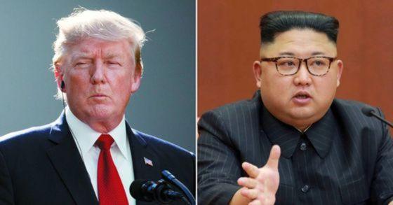 도널드 트럼프 미국 대통령과 김정은 북한 국무위원장. [AP=연합뉴스]