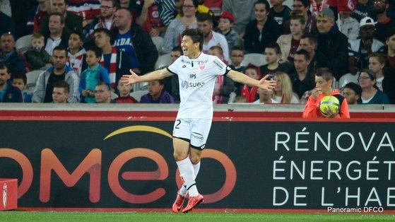 프랑스 프로축구 디종 권창훈이 올 시즌 11골을 터트리며 맹활약 중이다. [사진 디종 트위터]