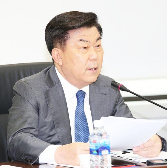 중소기업중앙회 박성택 회장.